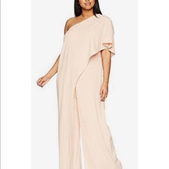 5c7fe40011e adrianna papell Pants - Adrianna Papell plus size jumpsuit